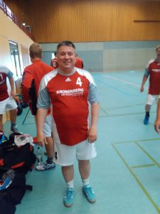 seine letzten Spiele als Trainer: Uwe Ingenillen