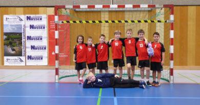F-Jugend gewinnt gegen den SV Friedrichsfeld 25:19