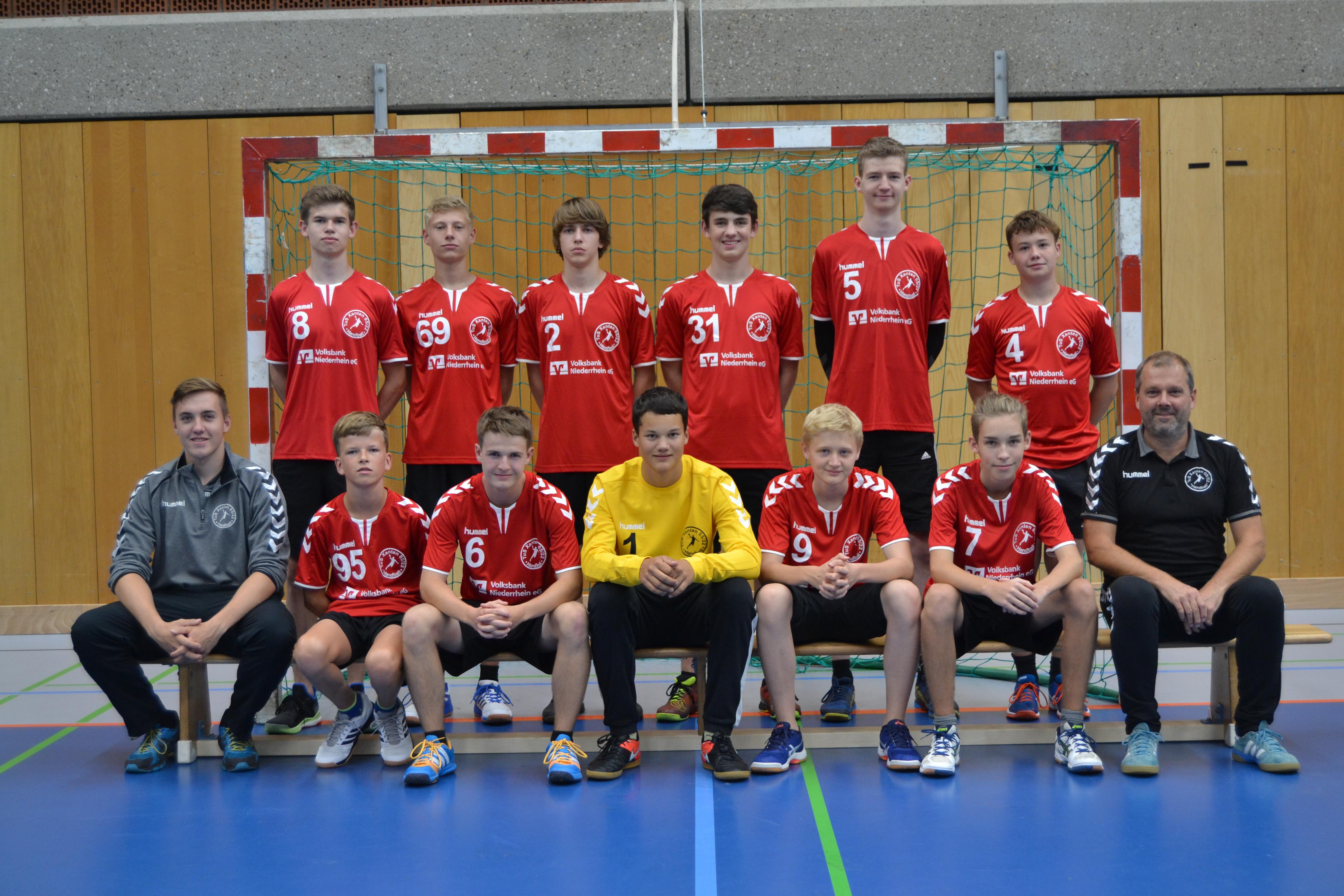 B Jugend Handball